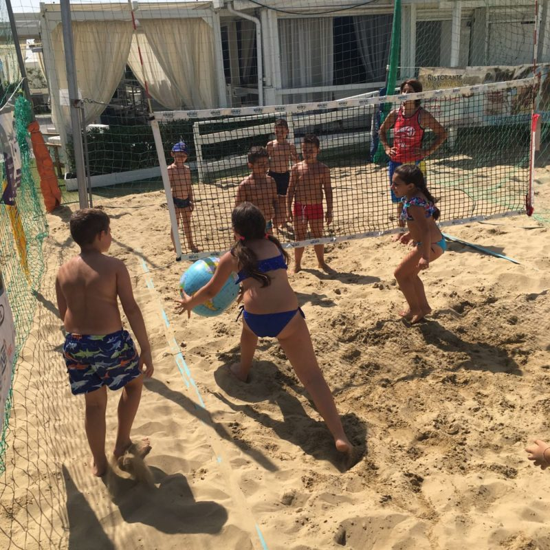 mini club beach Nettuno